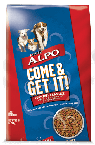 Alpo Dry Dog Food Bag