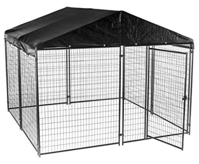 Outside Dog Kennels with Cover for xxxL Dogs