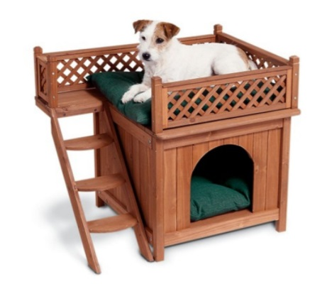 Wooden Indoor Dog House for Small Pets