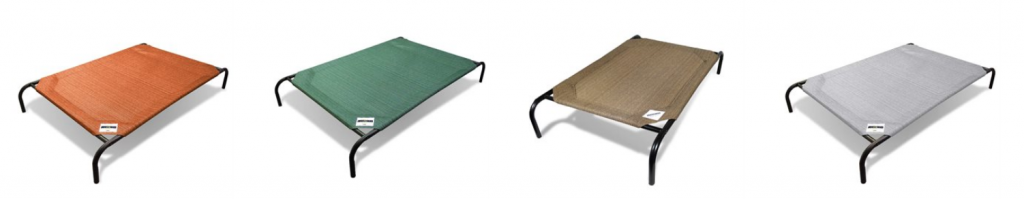 Terracotta, Nutmeg, Green and Silver Coolaroo Beds